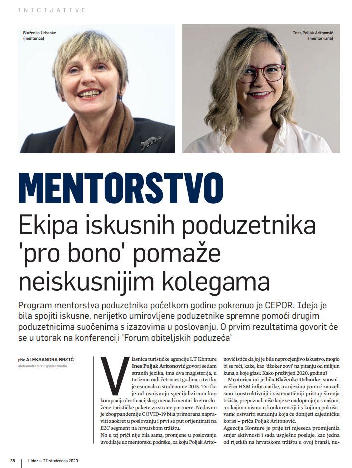 mentorstvo